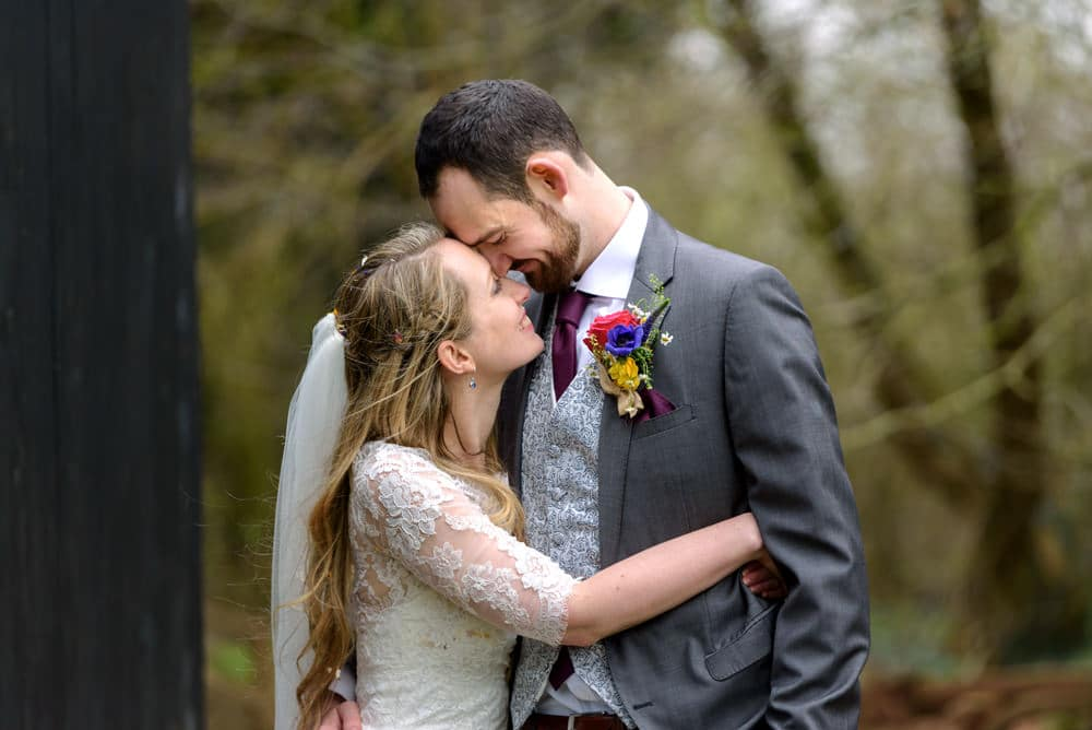 Natural and relaxed wedding photography at Lains Barn