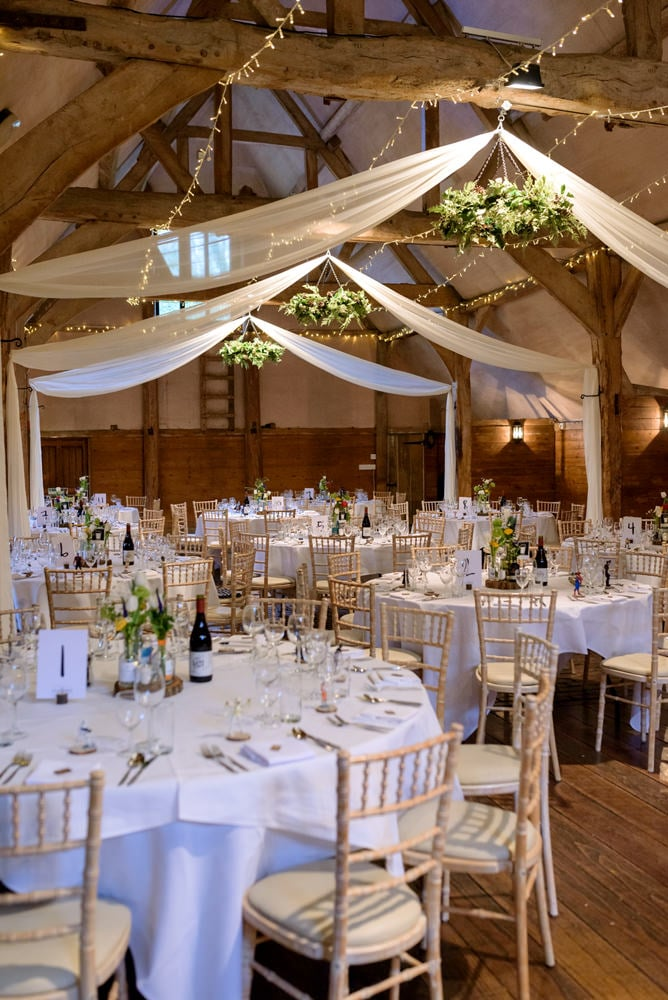 Lains Barn wedding venue in Oxfordshire