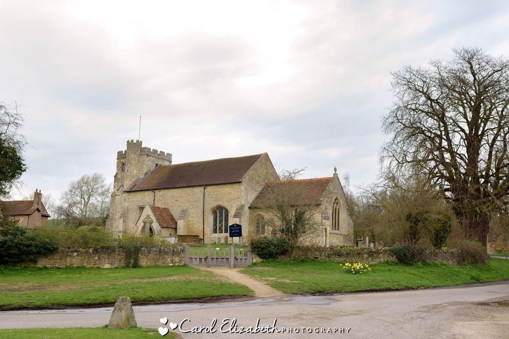 Nether Winchendon Church wedding photographer