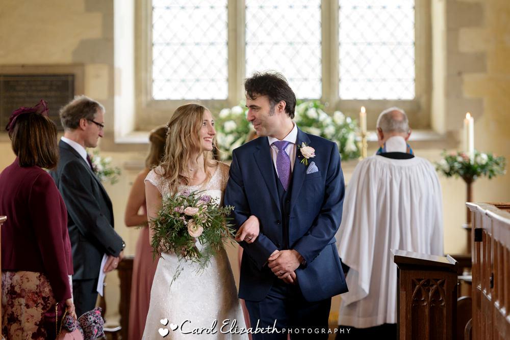 Nether Winchendon Church wedding ceremony