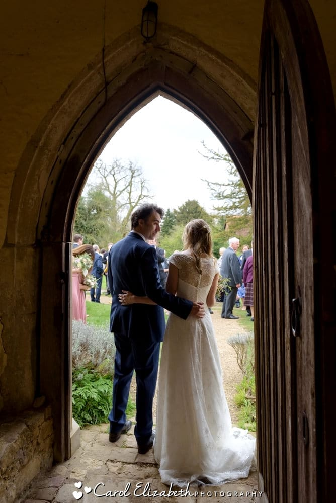 Wedding ceremony photographer at Nether Winchendon House and Church