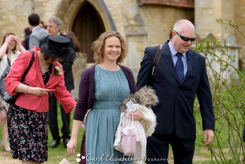 Nether Winchendon church guests