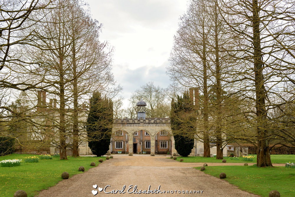 Nether Winchendon House wedding venue entrance