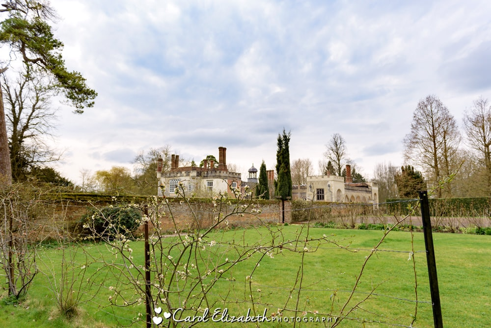 Nether Winchendon House wedding venue - view of the garden