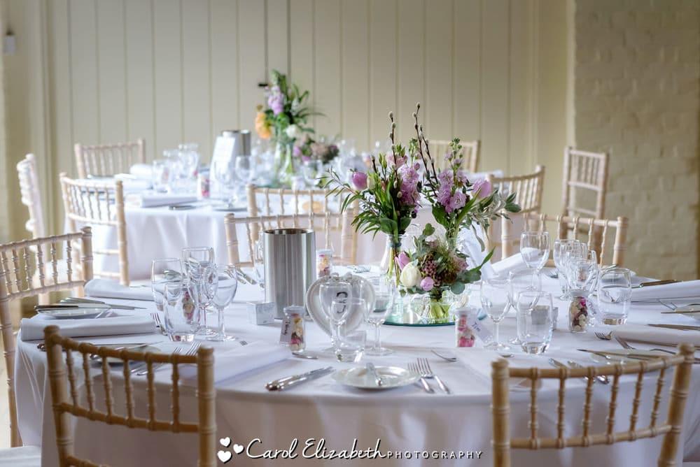 Wedding photos at Nether Winchendon House wedding venue