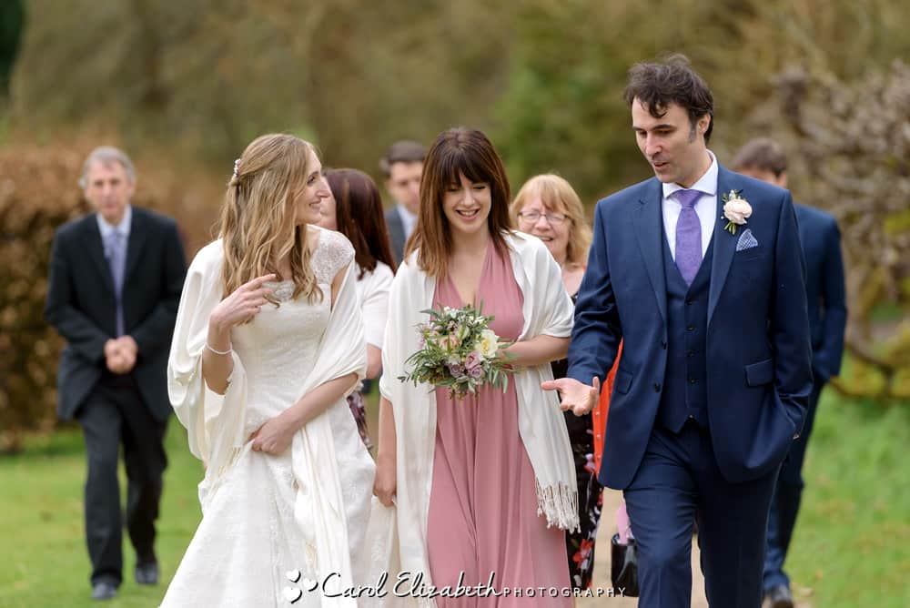 Natural wedding photography in Buckinghamshire
