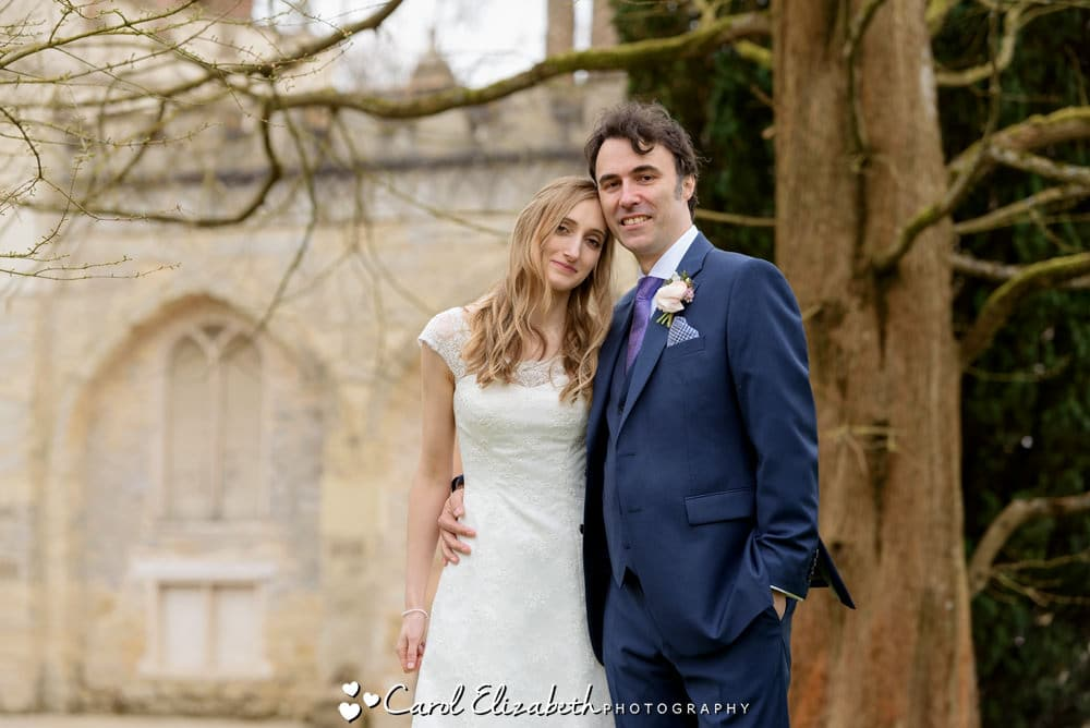 Spring wedding at Nether Winchendon House