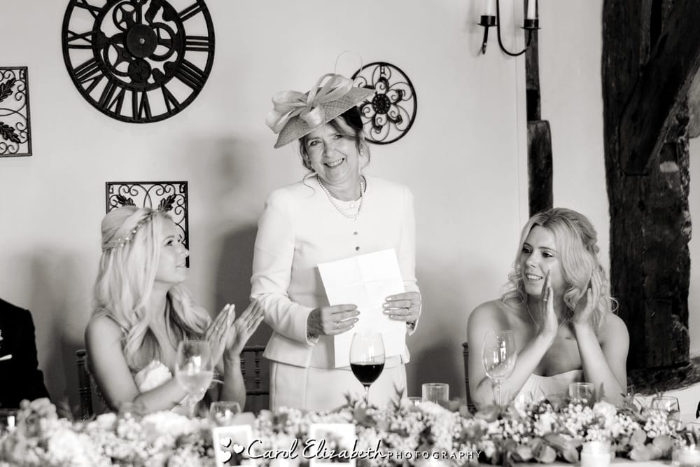 Mother of the bride wedding speech