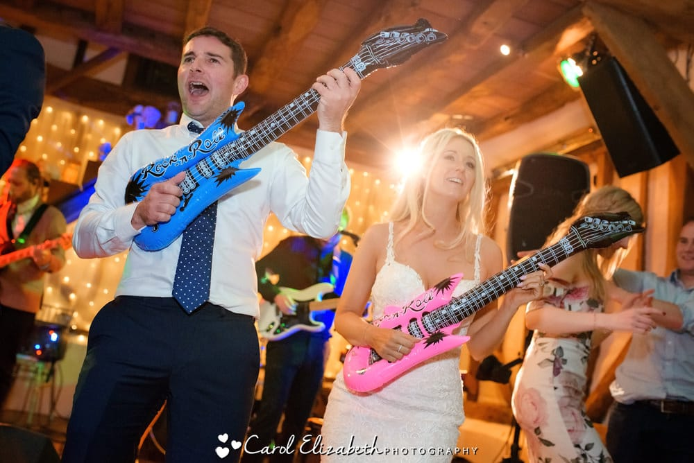 Wedding reception dancing and disco by Carol Elizabeth Photography