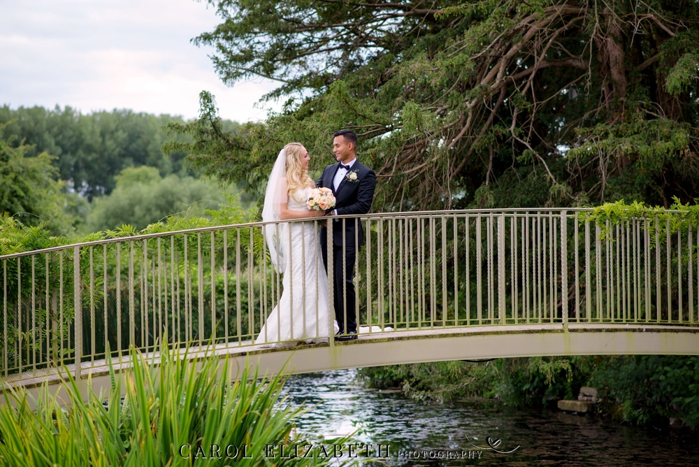 Wedding photographer at Caswell House