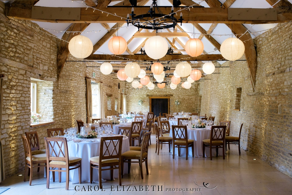 Caswell House wedding venue barn in Oxfordshire