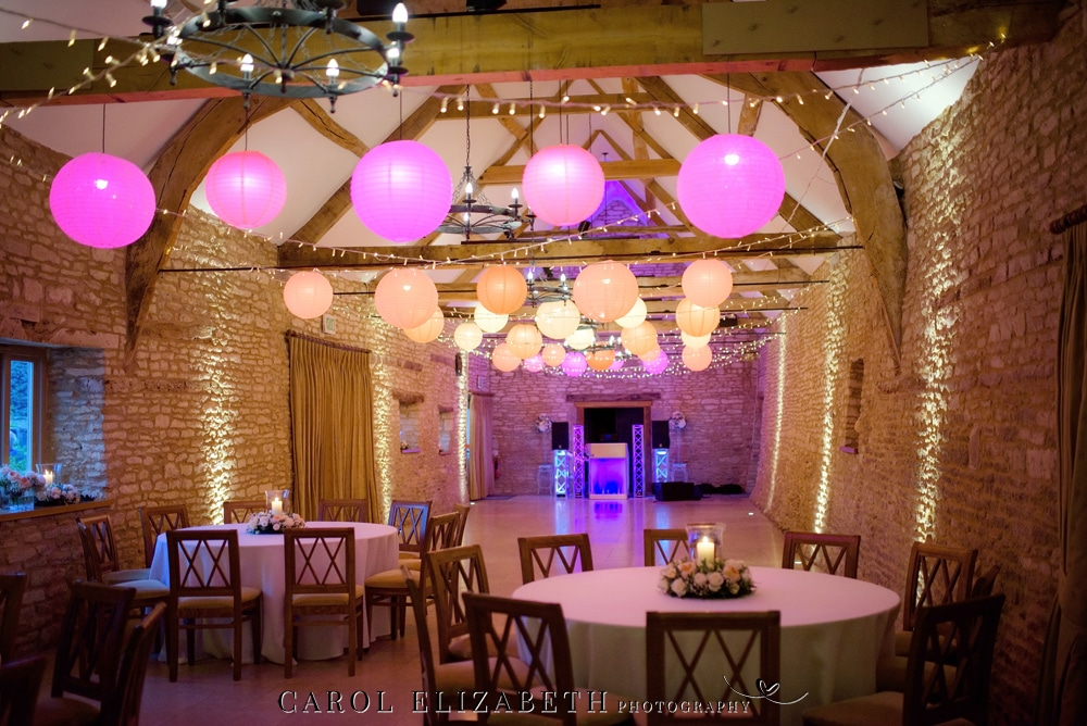 Caswell House wedding reception barn venue