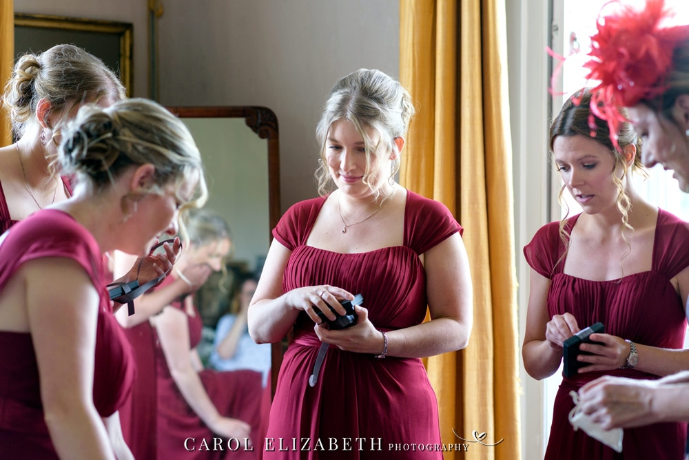 Reportage photography at Kirtlington Park wedding
