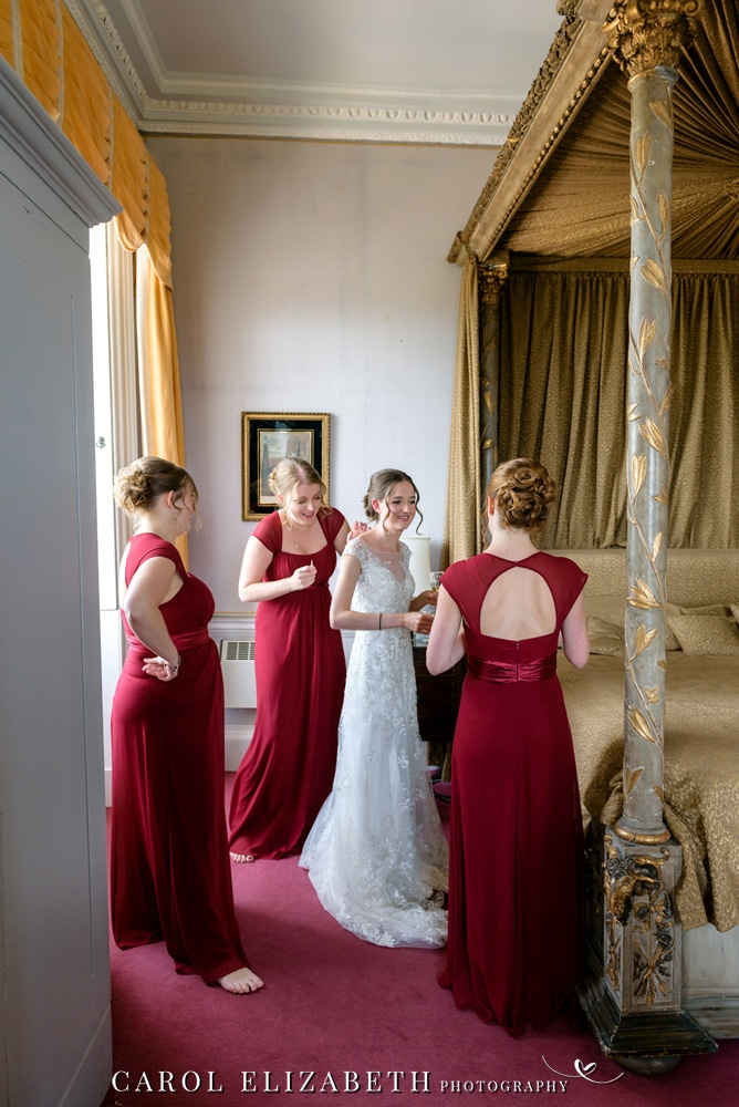 Full day wedding at Kirtlington Park