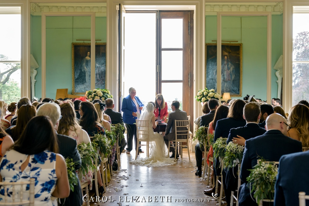 Kirtlington Park wedding venue in Oxfordshire