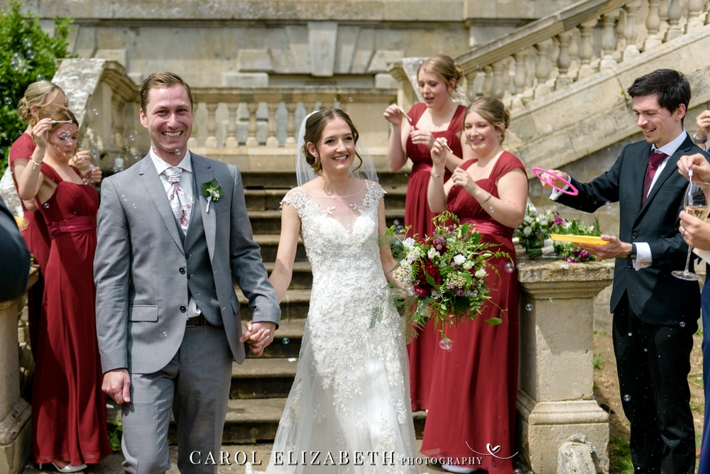 Summer wedding at Kirtlington Park