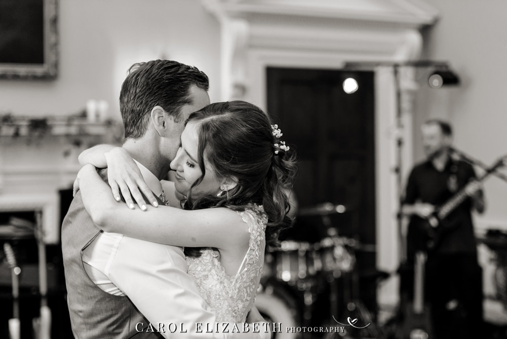 First dance at Kirtlington Park wedding