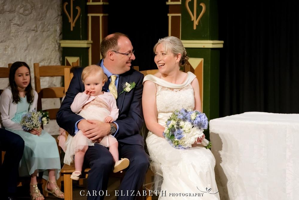 Unicorn Theatre wedding photography