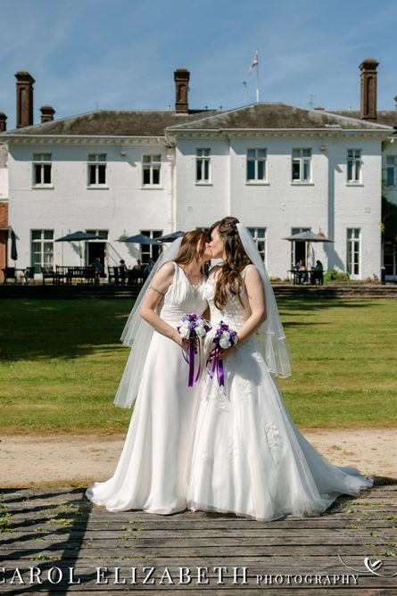 Gay wedding photography in Oxfordshire at Milton Hill House Hotel