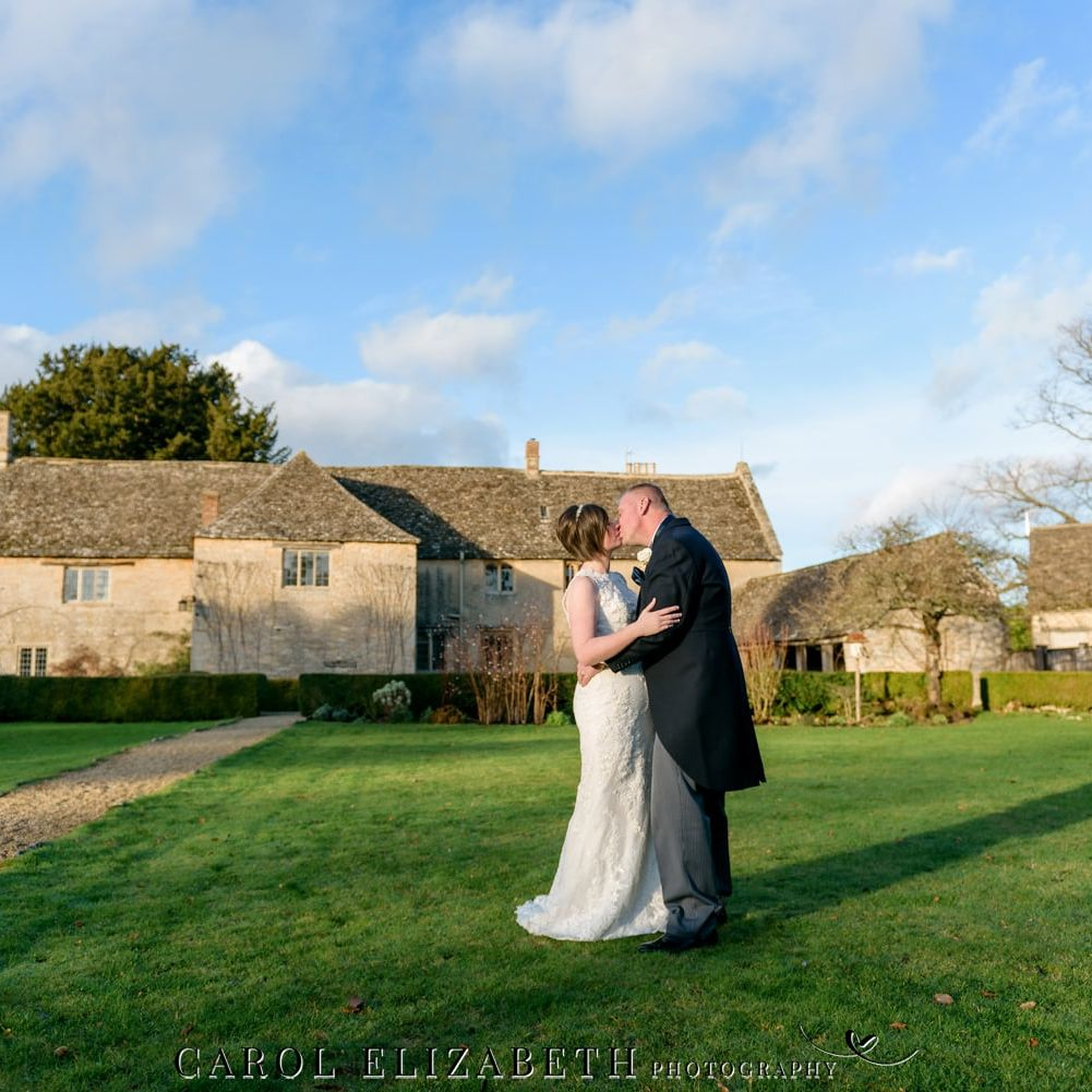 Winter wedding at Caswell House by Carol Elizabeth Photography
