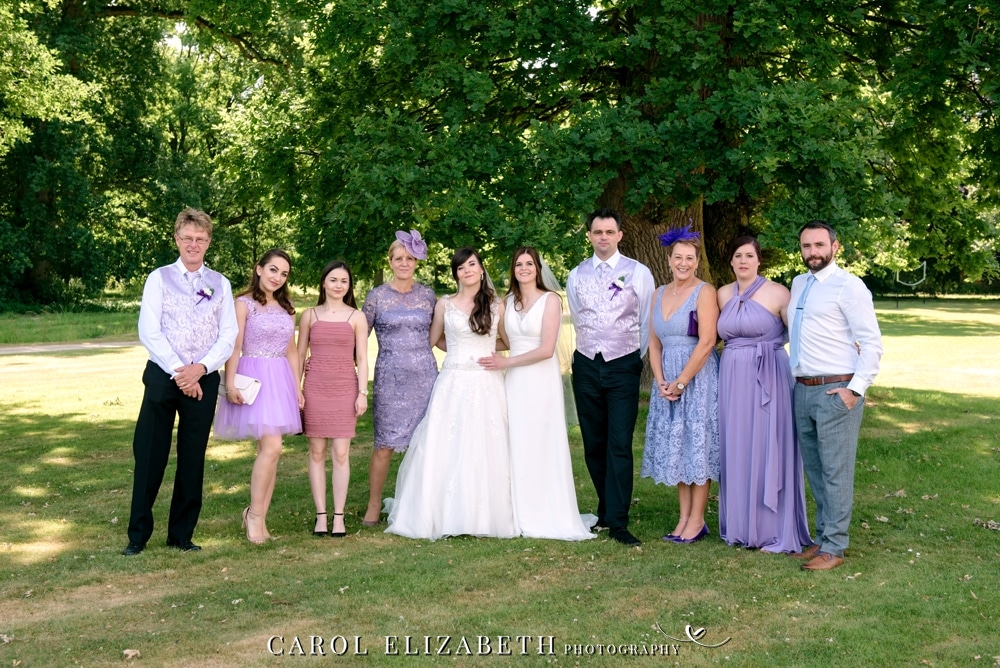 Relaxed and informal gay wedding photography in Oxfordshire