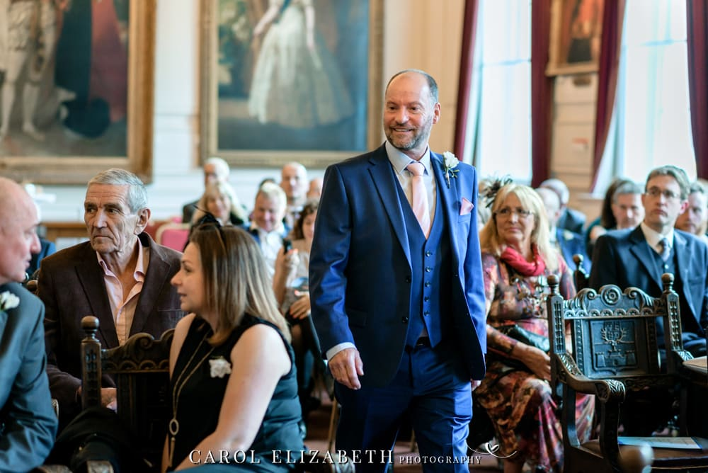 Professional wedding photography in Windsor Guildhall Berkshire