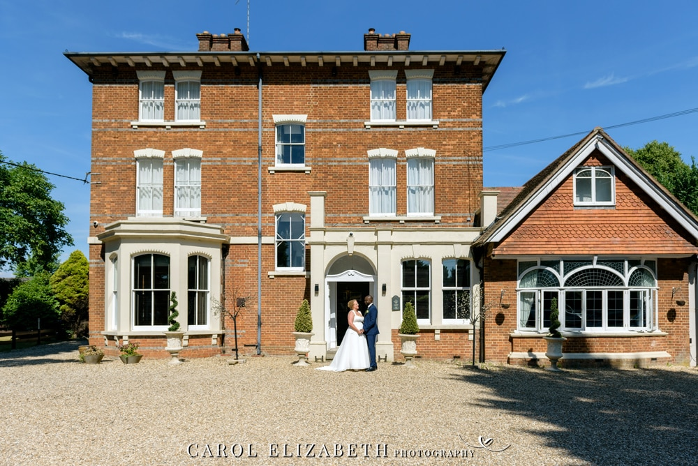 Professional wedding photography at Steventon House by Carol Elizabeth Photography