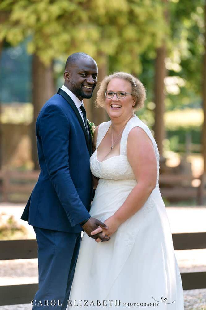 Professional wedding photography at Steventon House by Carol Elizabeth Photography