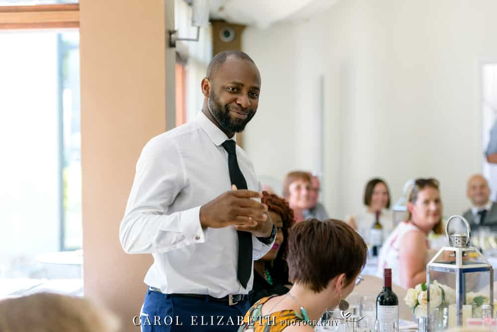 Steventon House wedding reception speeches