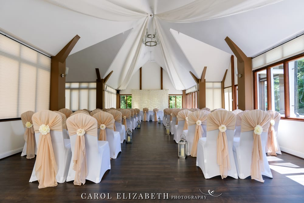 Steventon House wedding venue ceremony room