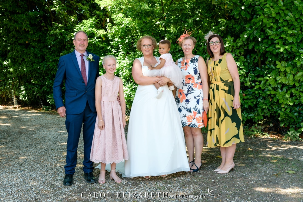 Professional wedding photographer at Steventon House - Carol Elizabeth Photography