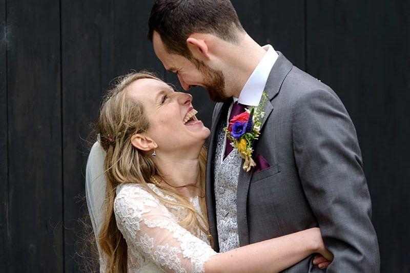 Lains Barn wedding photographer