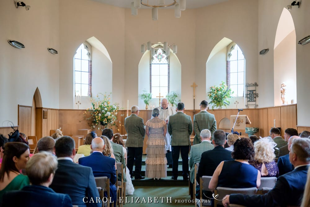 Weddings at Christ Church Hatherden. Relaxed and natural wedding photography by Carol Elizabeth Photography