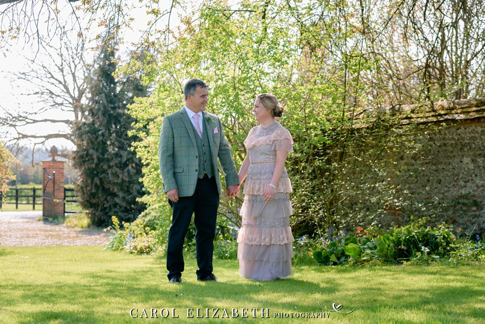 Hampshire wedding photographer at Old Hatherden Dairy. Elegant wedding photography by Carol Elizabeth Photography