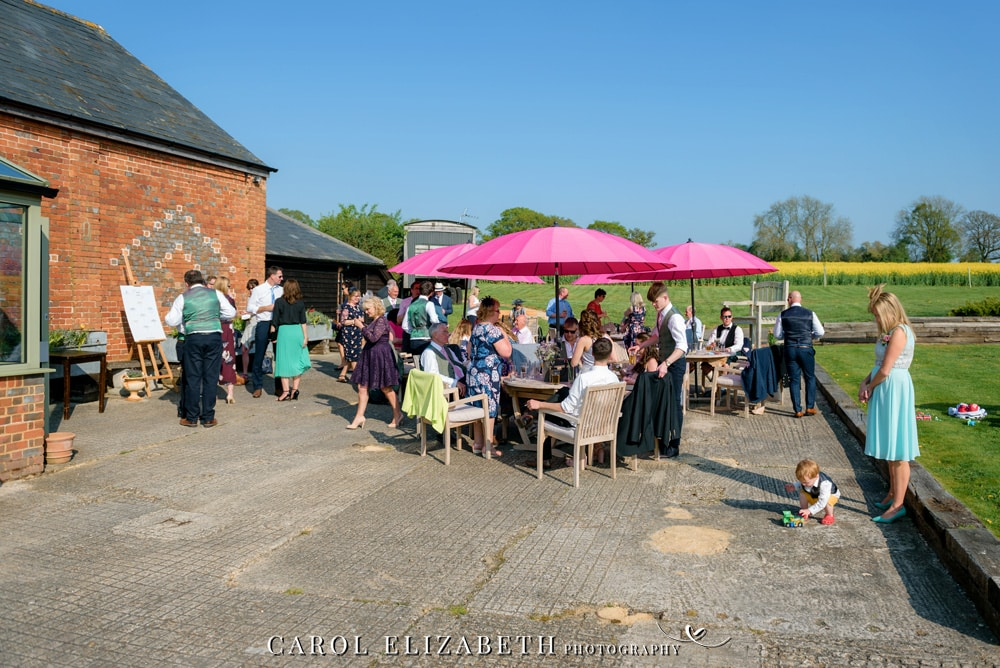 Wedding photography at Old Dairy Hatherden. Stylish and romantic wedding photography in Hampshire