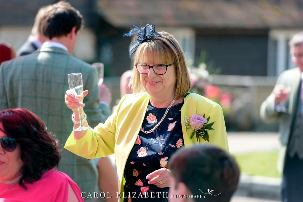 Hampshire wedding photographer at Old Hatherden Dairy. Relaxed and natural wedding photography by Carol Elizabeth Photography