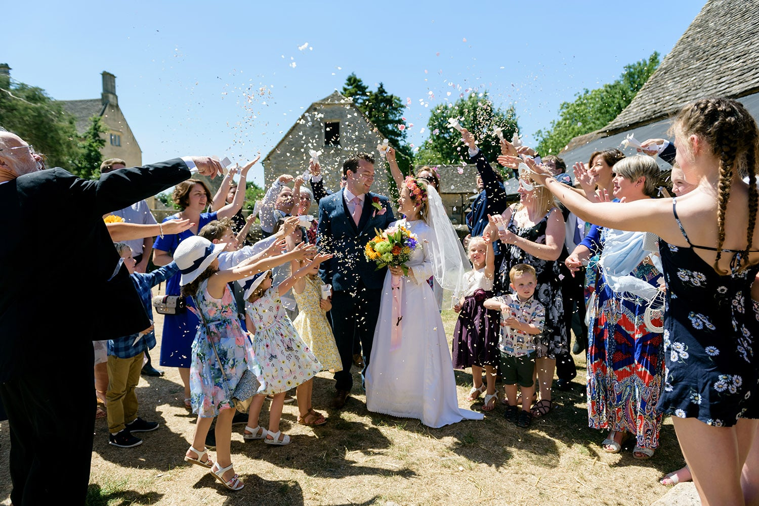 Cogges Manor Farm wedding photographer based in Oxfordshire