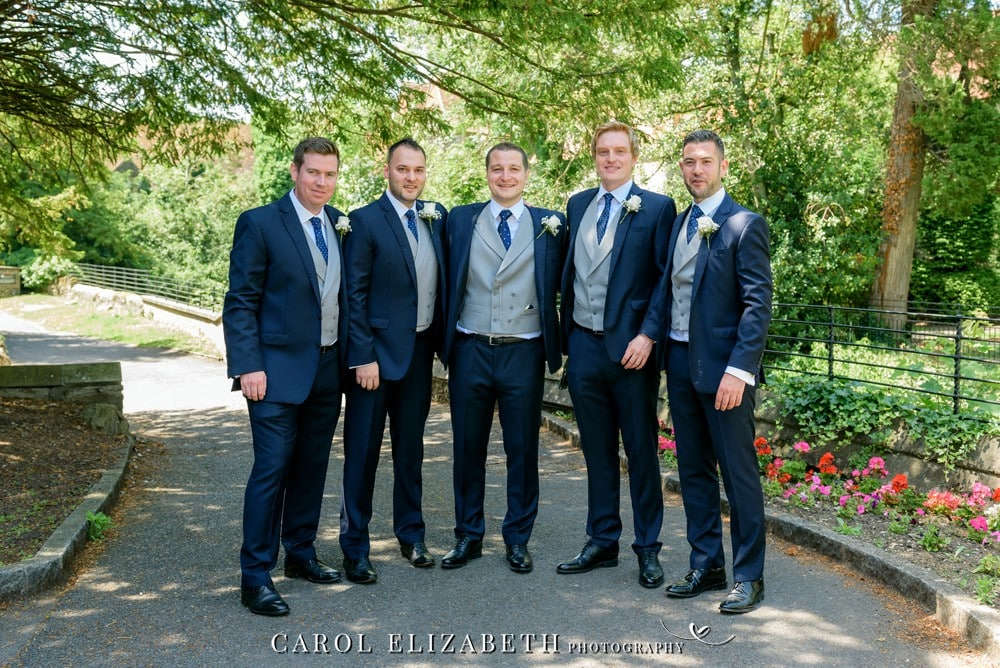 Groomsmen at Coseners House