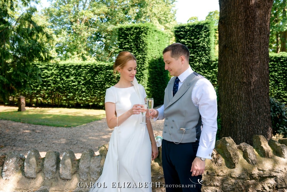 Relaxed Weddings at Coseners House by Carol Elizabeth Photography