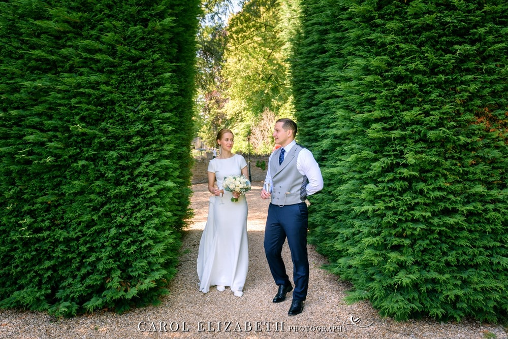 Summer Weddings at Coseners House by Carol Elizabeth Photography