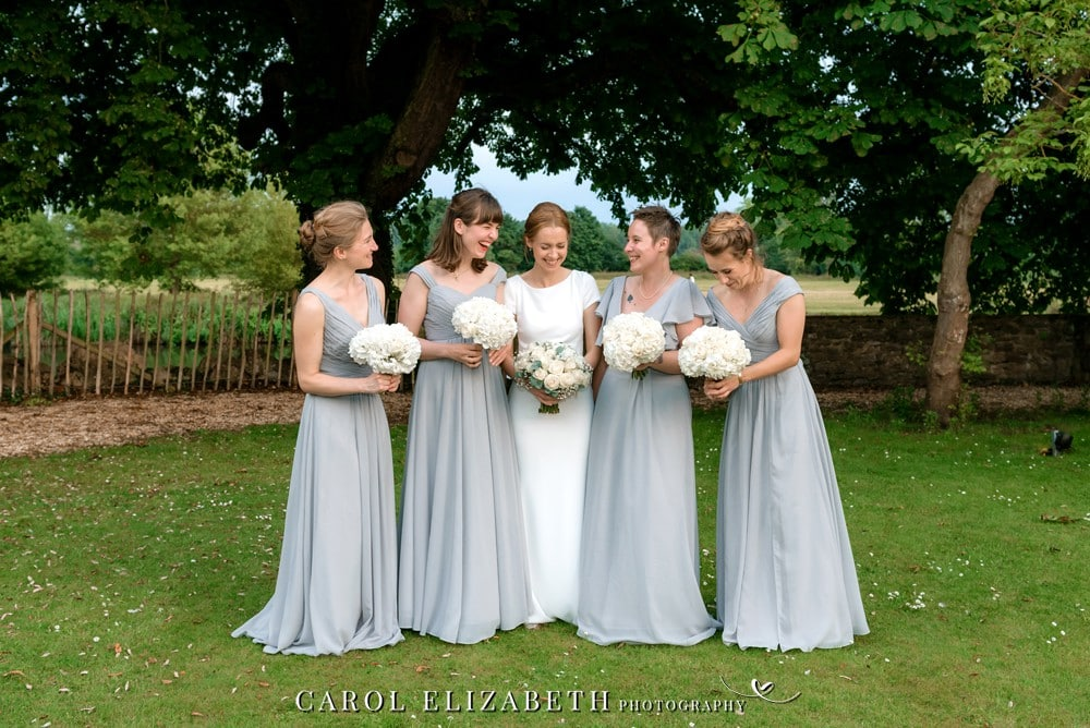 Bridesmaids at Coseners House Wedding