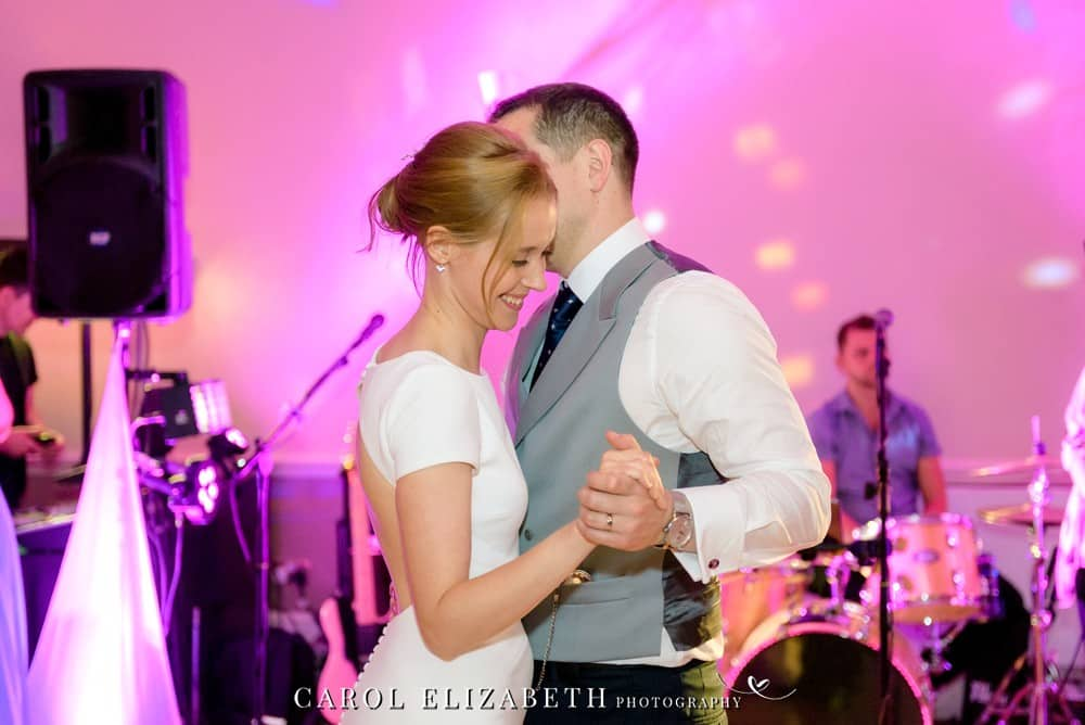 First dance at Coseners House Wedding by Carol Elizabeth Photography