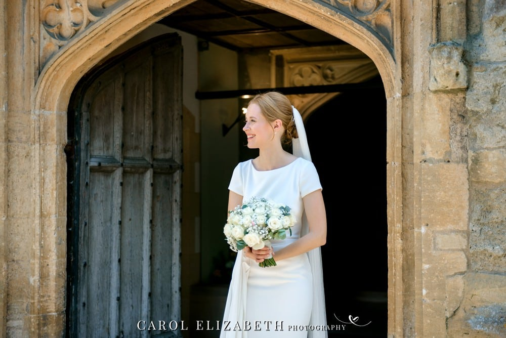 Wedding photography in Abingdon at St Helens Church