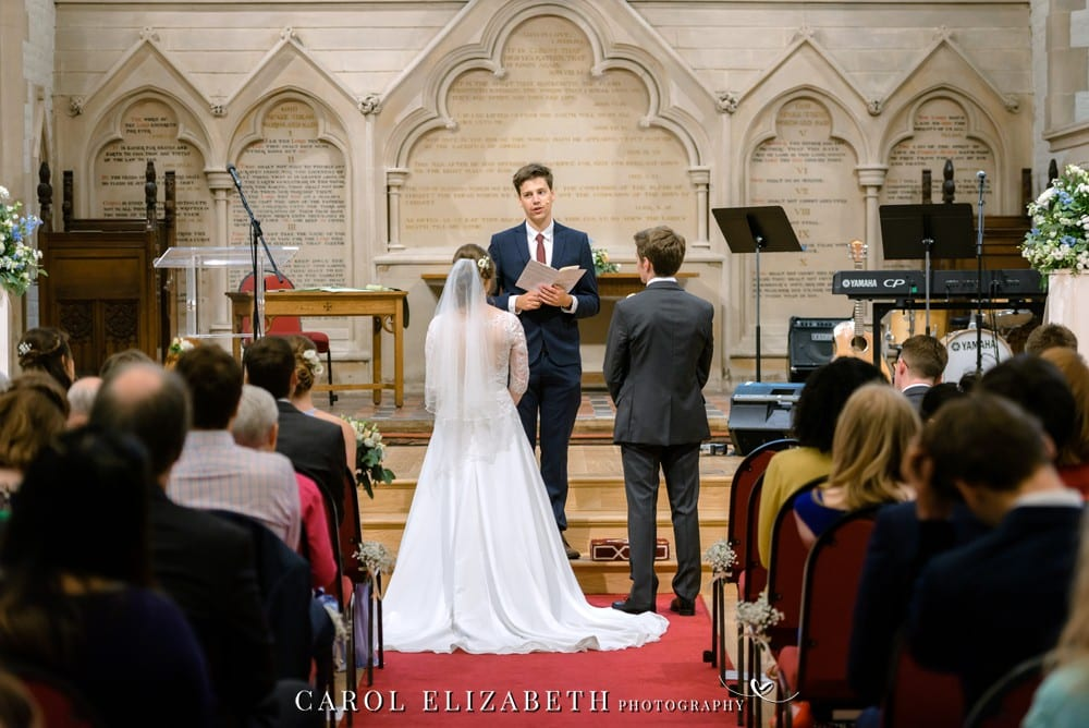 Oxford church wedding photography