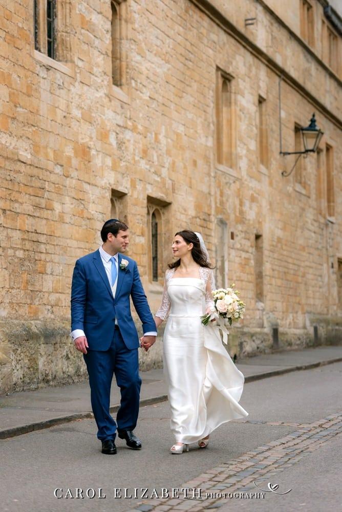 Bodleian Library wedding - Oxfordshire wedding photographer